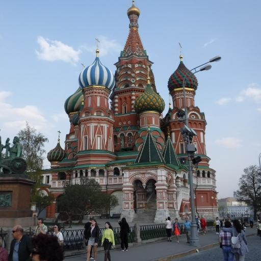 Moskva, cerkev Vasilija blaženega na Rdečem trgu