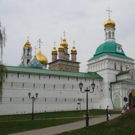 """Sergijev Posad,""""Ruski Vatikan"""" Rusija,"""
