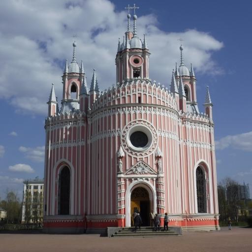 Sankt Petersburg, cerkev Chesme