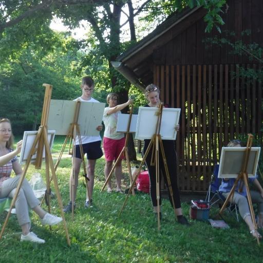 Ustvarjanje in druženje v naravi