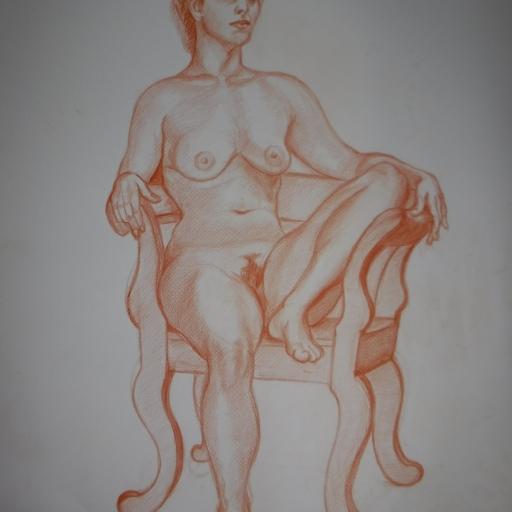 risba po živem modelu